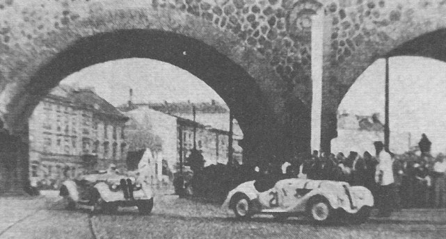 ROK 1948 FOTO.11 WYŚCIG O ZŁOTY LAUR WAWELU