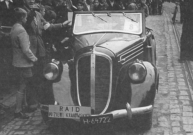ROK 1948 FOTO.12 I RAJD PO ZIEMIKRAKOWSKIEJ