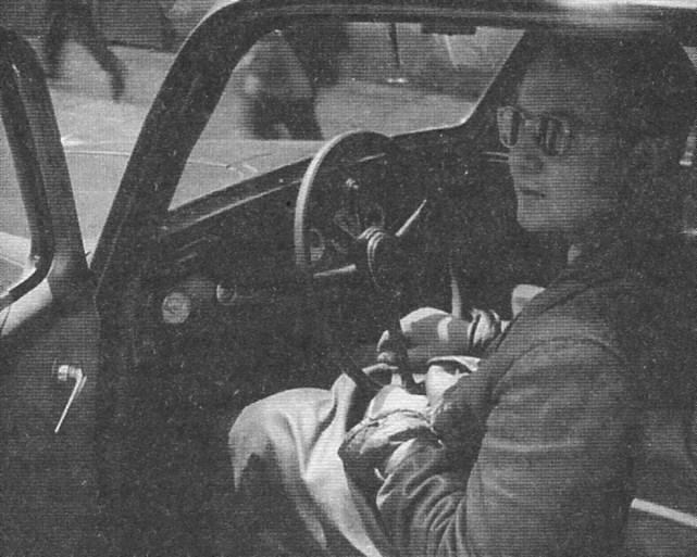 ROK 1957 FOTO 9 MISTRZOSTWA POLSKI - ANDRZEJ DĄBROWSKI