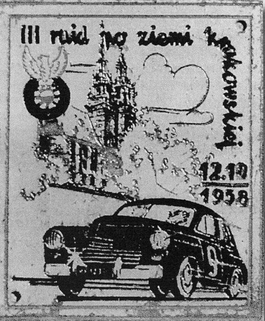 ROK 1958 FOTO.15 III RAJD PO ZIEMIKRAKOWSKIE