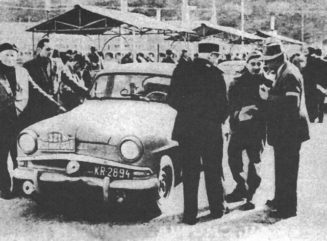 ROK 1959 FOTO.20 EKIPA KRAKOWSKA W MONACO