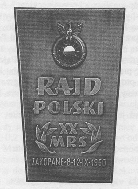 ROK 1960 FOTO.2 RXX RAJD POLSKI