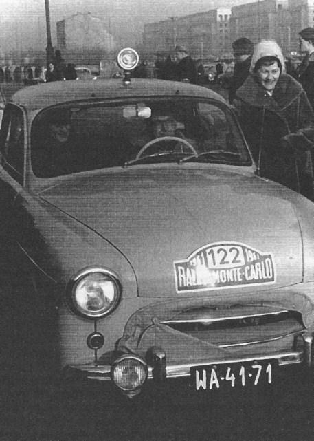 ROK 1961 FOTO.3 XXX RAJD MONTE CARLO - MARIANREPETA