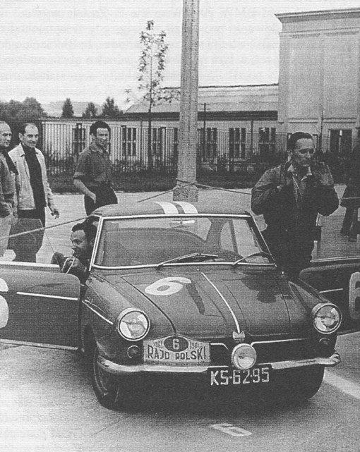 ROK 1961 FOTO.5 XXI RAJD POLSI - MIECZYSŁAW SOCHACKI