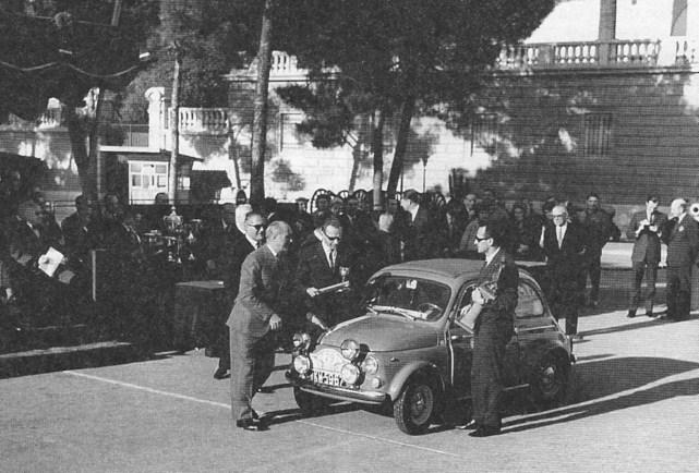 ROK 1965 FOTO.12 RAJD MONTE CARLO - SOBIESŁAW ZASADA