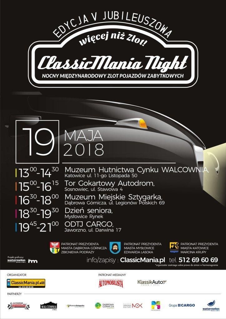 ClassicMania Night 2018 plakat (1)